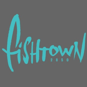 Fishtown 2850 handdrawn brightblue