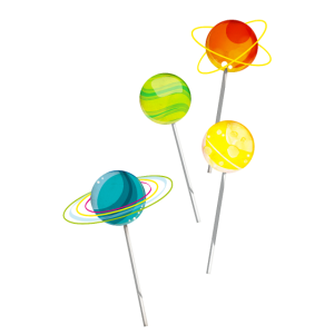 Candy-Planets