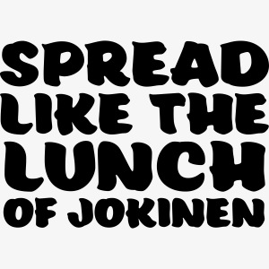 spread like the lunch of jokinen
