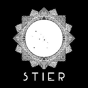 Stier Sternzeichen Poster als Geschenkidee