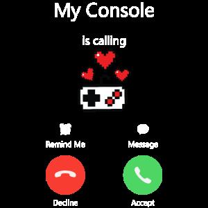 Meine Konsole ruft an