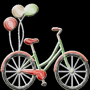 Fahrrad Vintage Luftballons