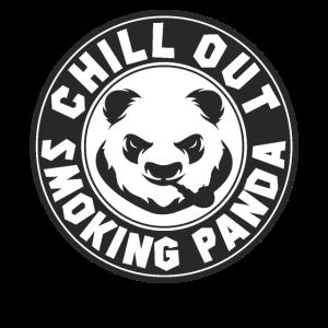 Chill Out rauchender Panda