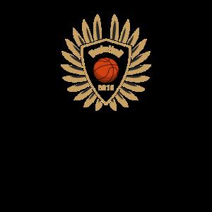 Basketballspieler Mannschaft Mannschaftslogo