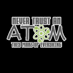 Physik Chemie Atom Spruch Geschenk Geschenkidee