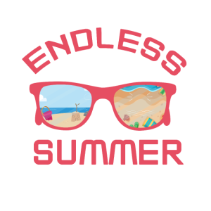 immer urlaub sommerbrille party shirt