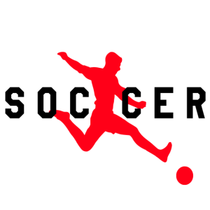 Soccer Fußball Motiv