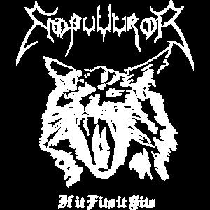 Black Metal Cat Empuuuror Emperor If it Fits it Si