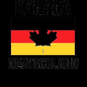 Kanada Deutschland Austausch Heimat Cool Geschenk