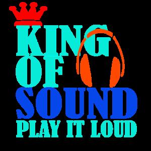 KING OF SOUND Musik Geschenk