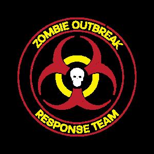 Zombie Outbreak Response Team Geschenk
