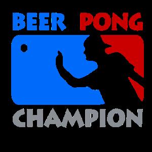 Beer Pong Champion Party saufen Bier Geschenkidee
