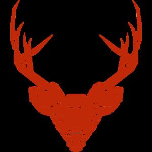 Hirschkopf Trophäe