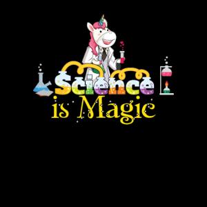 Wissenschaft ist Magie - Unicorn Chemistry Geek