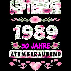 30. Geburtstag - 30 Jahre Frauen Mädchen