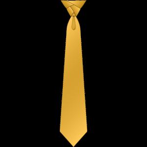 Eldredge krawatte gelb