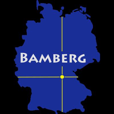 Bamberg - Bambärch liegt im bayrischen Oberfranken. - Regnitz,Oberfranken,Bayern,Bamberg