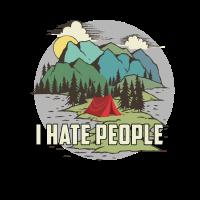 Ich hasse Menschen Camper