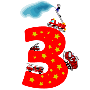 3. Geburtstag 3 Jahre Feuerwehr Auto Geschenk