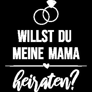 Heiratsantrag - Willst du meine Mama heiraten?