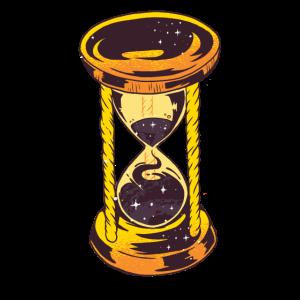 sanduhr uhr goldene uhr sonyas stundenglas