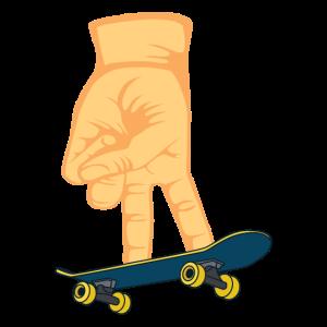 Skateboard Finger Spiel Flip Skate Indoor Geschenk