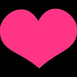 Herz Pink