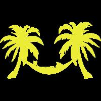 Palme Hängematte kühlen Charakter 8