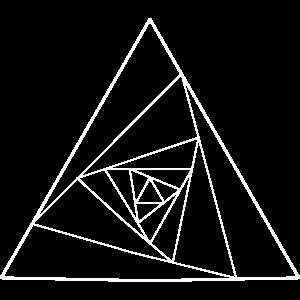Abstraktes Dreieck