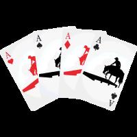 Kartenspiel Trail Westernreiten Pferdeshirts