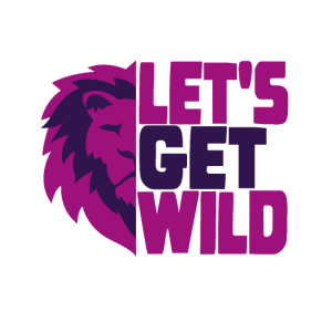 Lets get wild Löwe Save the nature