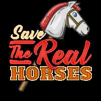 Hobbyhorsing Pferde T-Shirt Reiter Hobby Spaß