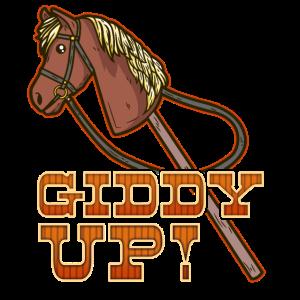 Hobbyhorsing Pferd T-Shirt Dressur reiten traben