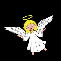 Engel in Ausbildung