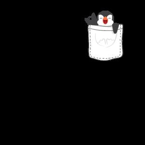 Pinguin Brusttasche