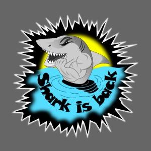 t shirt requin mechant shark is back attack