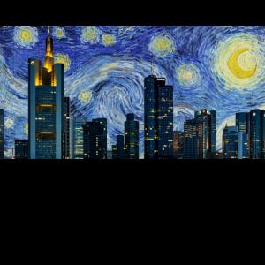 Sternennacht Skyline