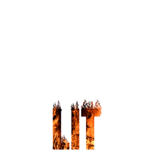 Keep Calm and Get Lit white