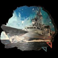 Cool Retro Marine Zerstörer Schlachtschiff Matrose