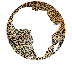 Afrika Karte Tierwelt