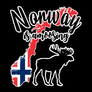 Norwegen ist amüsant