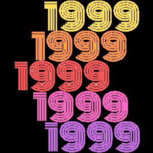 1999 T-Shirt 20. Geburtstag Geburtstagsgeschenk
