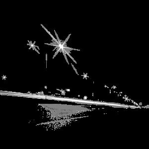 Strassenlaternen Straße bei Nacht Sterne
