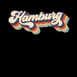 Hamburg Retro Geschenk