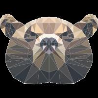 Low Poly Bär
