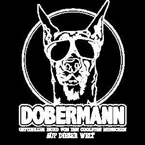 Lustiges Dobermann Hund Spruch Damen Herren