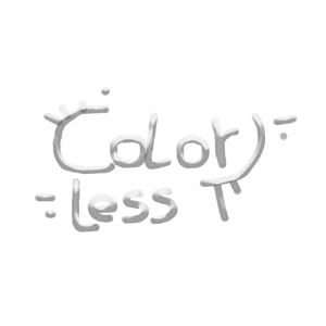 Farblos gestaltet für Farbwettbewerb (ironisch)