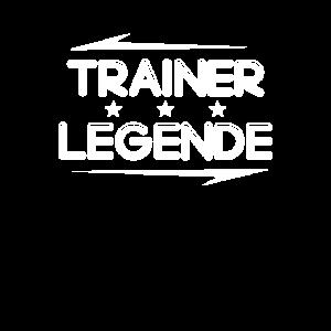 Trainer Legende Shirt Geschenk