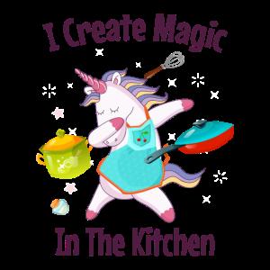 Ich zaubere in der Küche Koch Hausmann Hausfrau