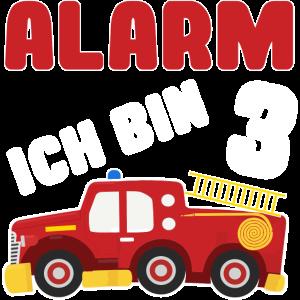 Kindergeburtstag 3 Jahre Alt Feuerwehrauto Feuerwe